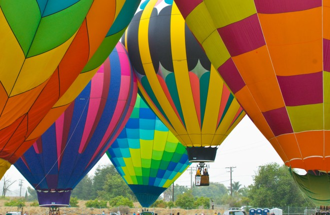 Image From The Citrus Balloon Festival, Santa Paula