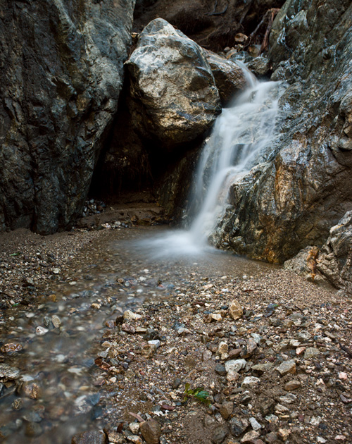 © David Saffir Waterfall Vista View Trail Big Sur