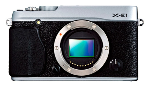 Fuji XE-1, Front View