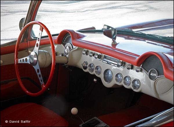 1957 Corvette Interior
